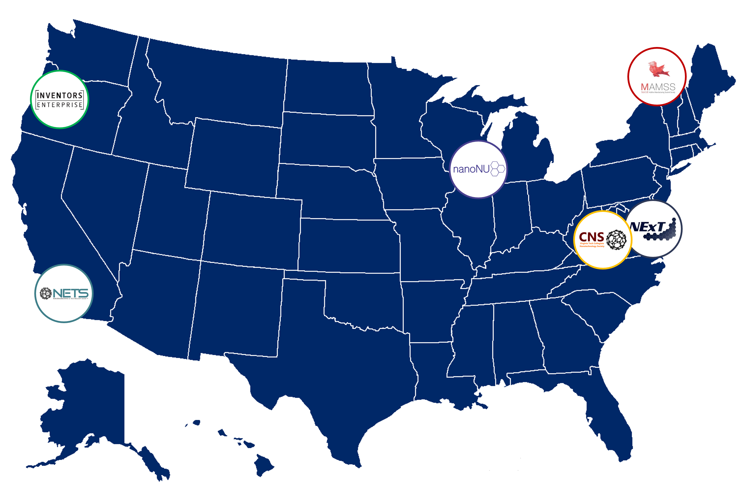 NextTech is made up of groups from around the country! Click on each organization to learn more!